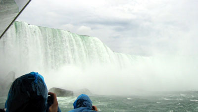 Niagara From Boat